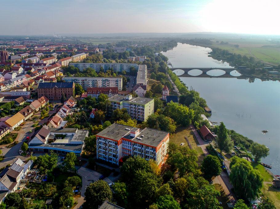 Die Nationalparkstadt Schwedt/Oder